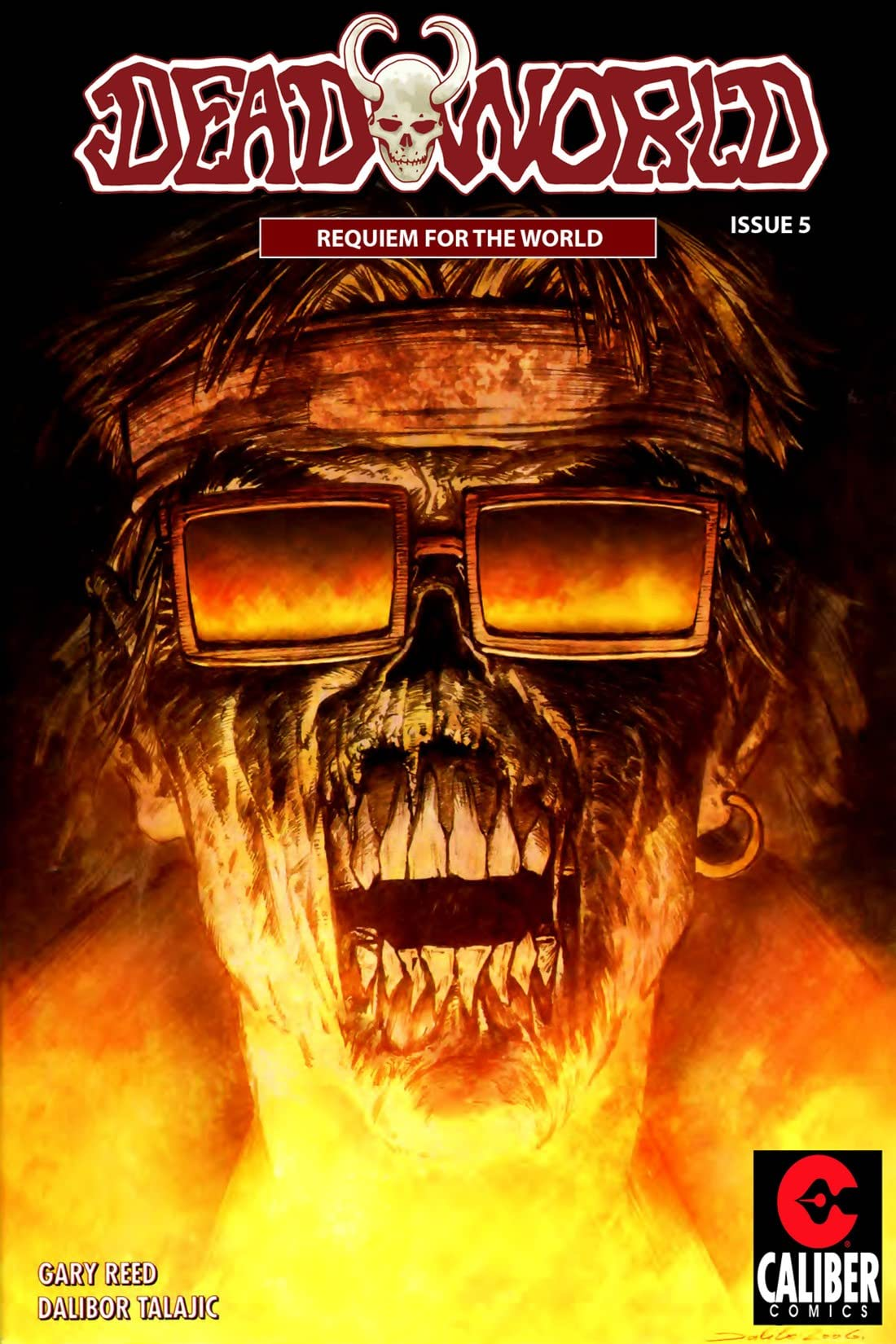 Deadworld: Requiem For The World #5