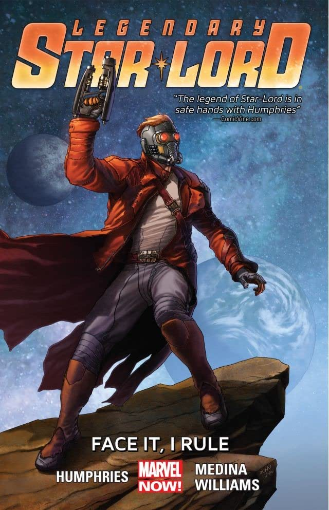 Legendary Star-Lord Vol. 1: Face It, I Rule