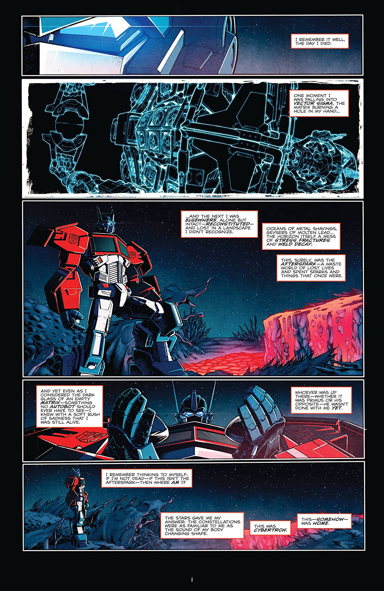 Transformers: Death of Optimus Prime