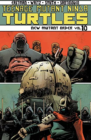 Teenage Mutant Ninja Turtles Tome 10: New Mutant Order