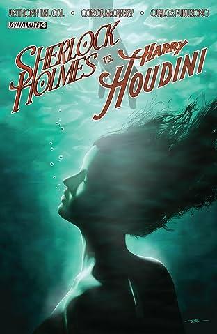 Sherlock Holmes vs. Harry Houdini #3 (of 5): Digital Exclusive Edition
