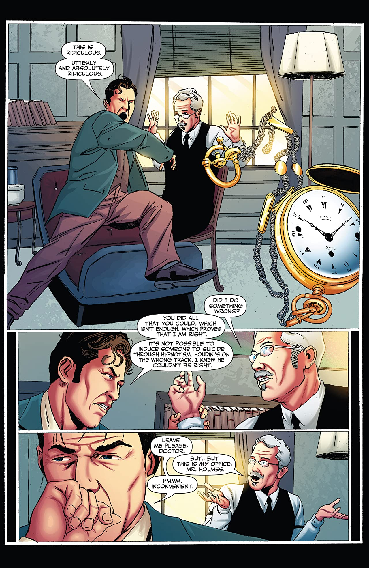 Sherlock Holmes vs. Harry Houdini #3 (of 5): Digital Exclusive Edition