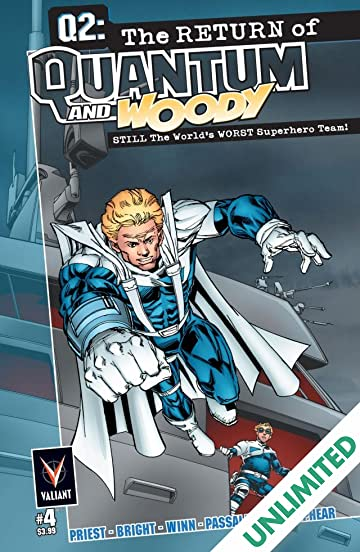 Q2: The Return of Quantum and Woody (2014) #4 (of 5): Digital Exclusives Edition