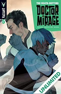The Death-Defying Dr. Mirage (2014) #5 (of 5): Digital Exclusives Edition