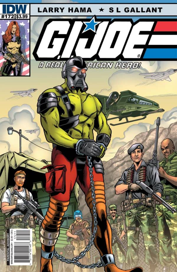 G.I. Joe: A Real American Hero No.172
