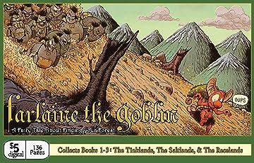 Farlaine the Goblin: Books 1-3: The Tinklands, The Saltlands, & The Racelands