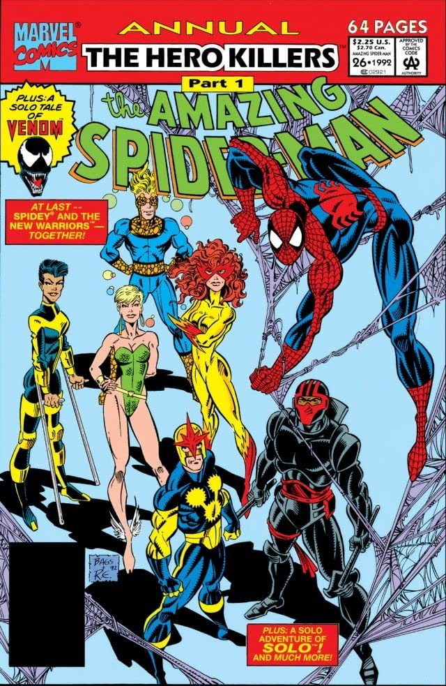 Amazing Spider-Man (1963-1998) Annual #26