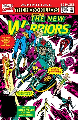 New Warriors (1990-1996) Annual #2