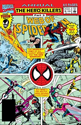Web of Spider-Man (1985-1995) Annual No.8