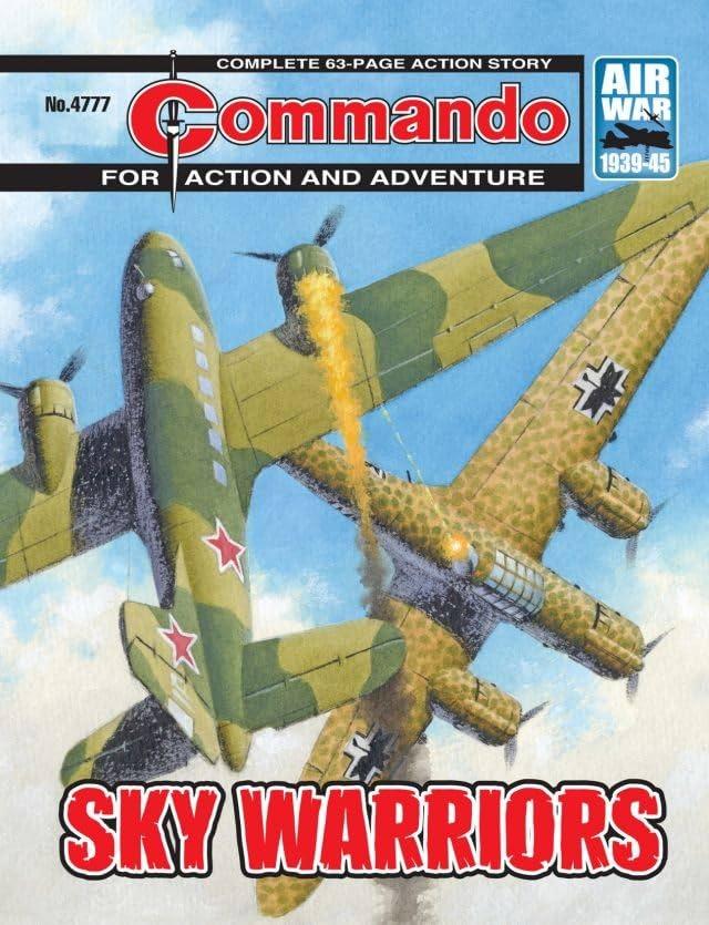 Commando #4777: Sky Warriors