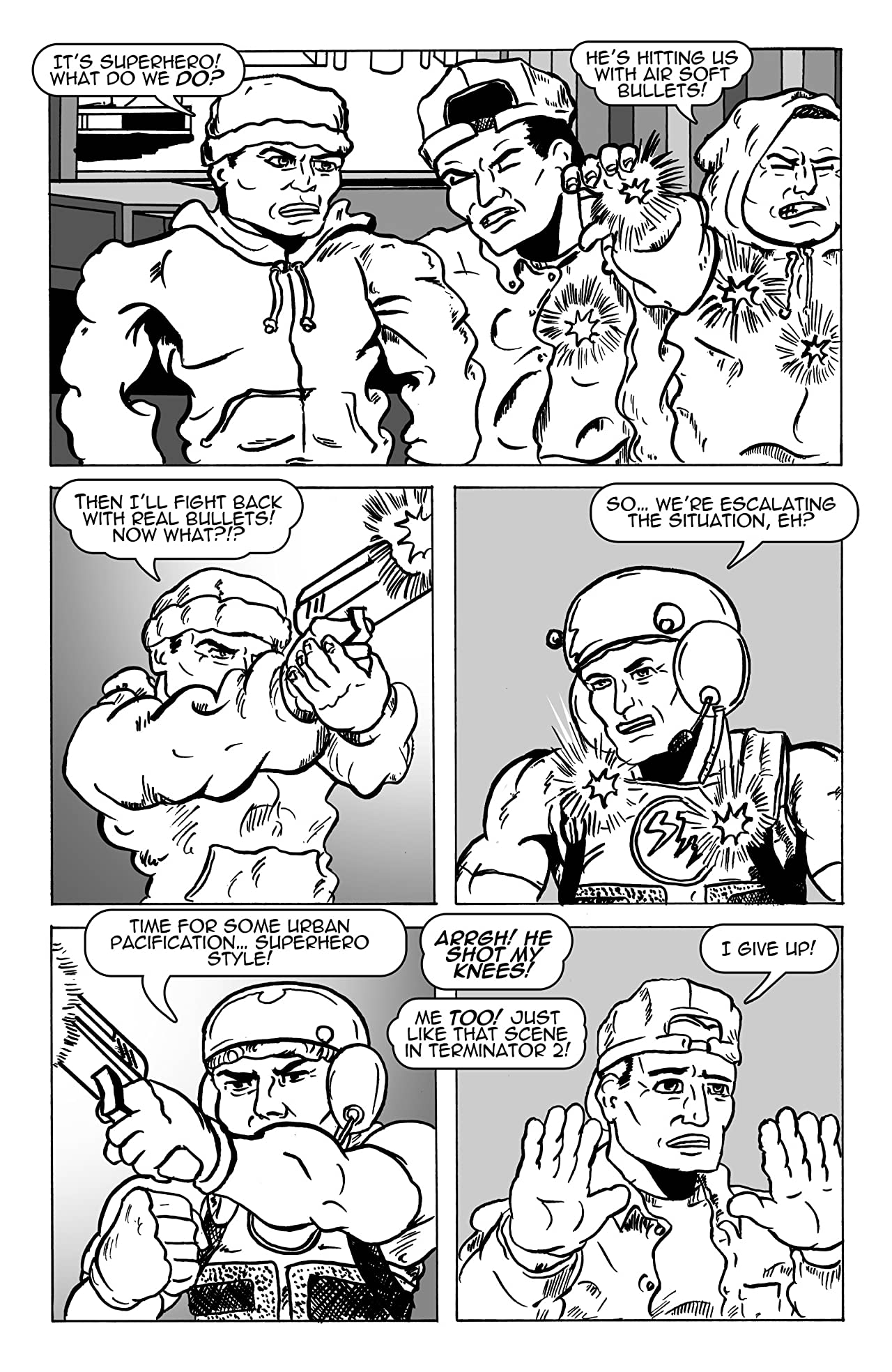 Naked Man Comics #8