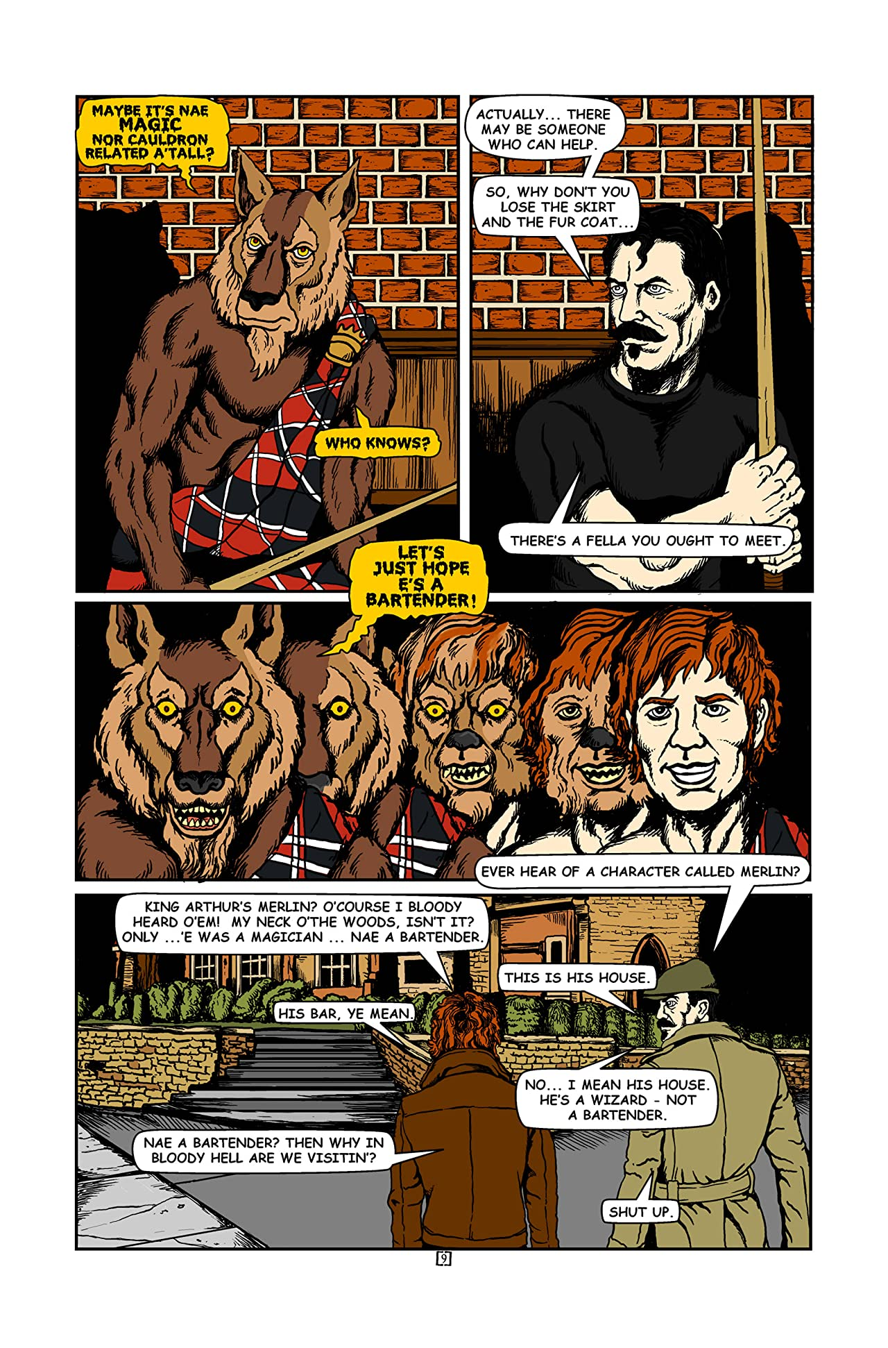 Tales of the Bunny-Man #1