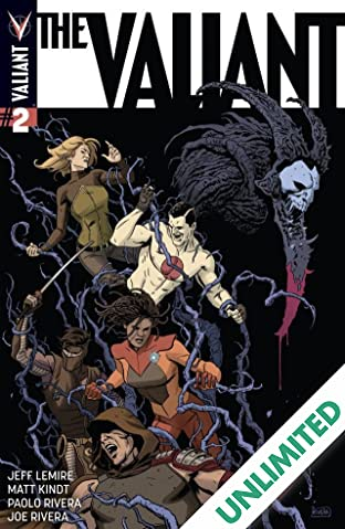 The Valiant #2 (of 4): Digital Exclusives Edition