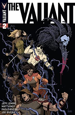 The Valiant No.2 (sur 4): Digital Exclusives Edition
