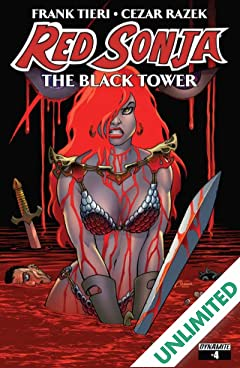 Red Sonja: The Black Tower #4 (of 4): Digital Exclusive Edition