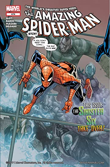 Amazing Spider-Man (1999-2013) #676