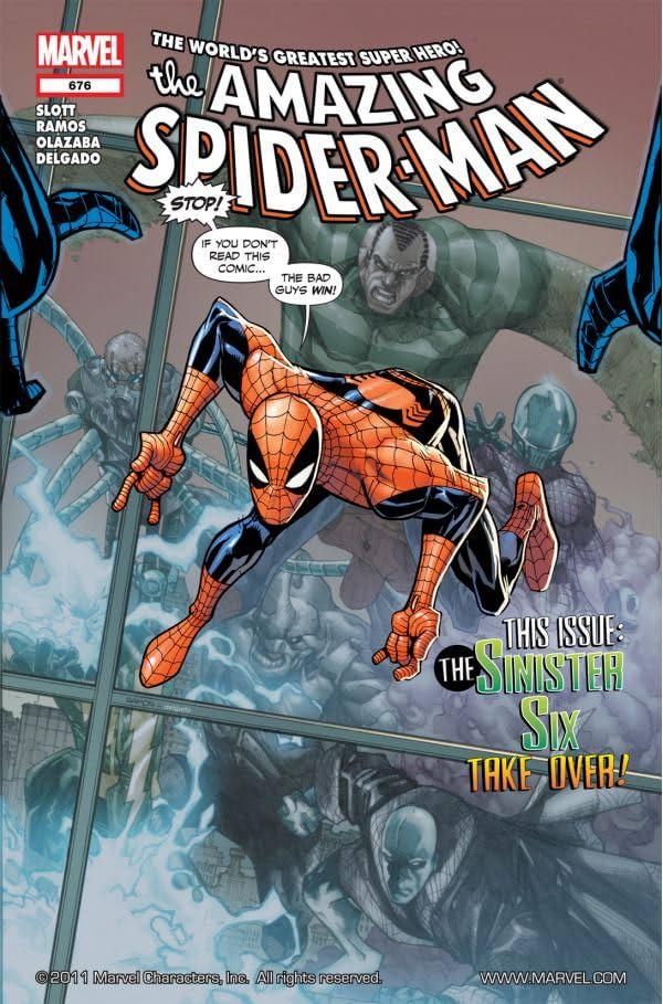 Amazing Spider-Man (1999-2013) #676