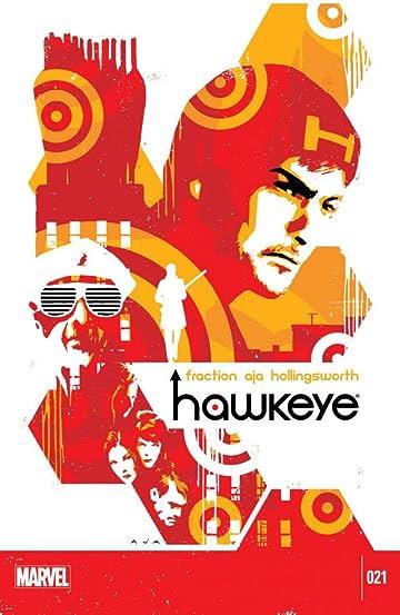 Hawkeye (2012-2015) #21