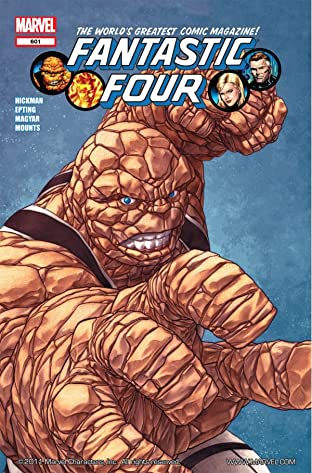 Fantastic Four (1998-2012) No.601