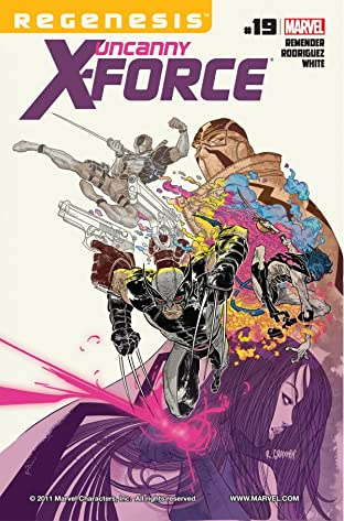 Uncanny X-Force (2010-2012) No.19