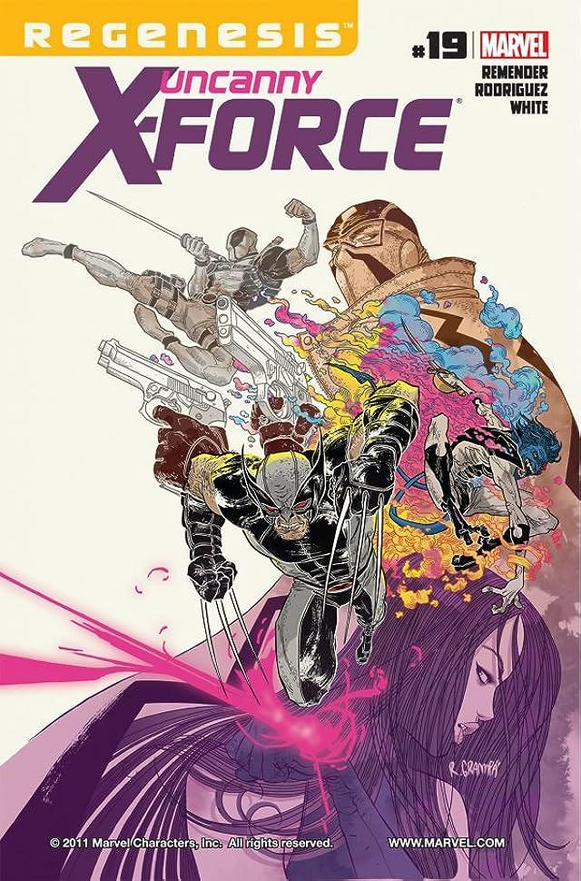 Uncanny X-Force (2010-2012) #19