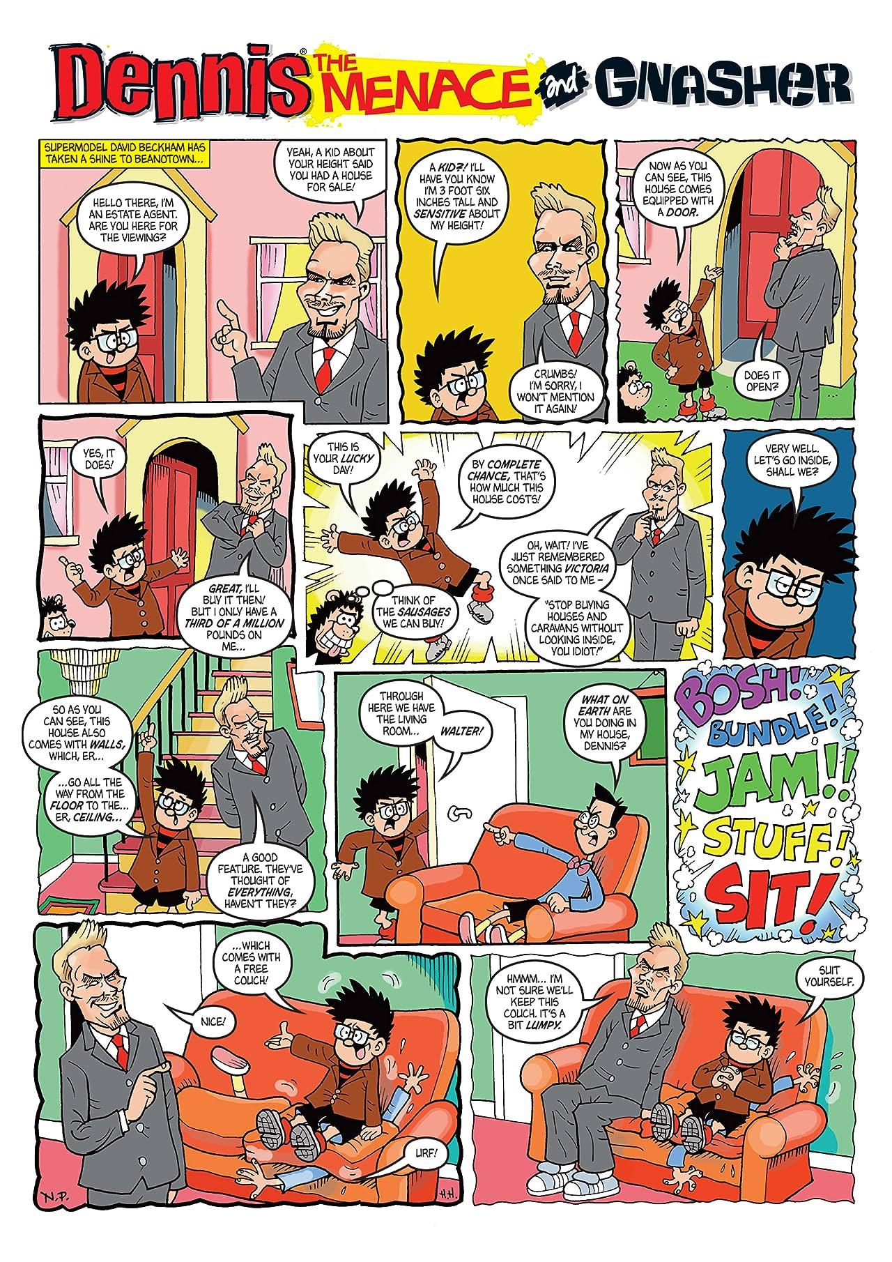 The Beano presents Dennis the Menace and Gnasher #8: Menacing Mayhem