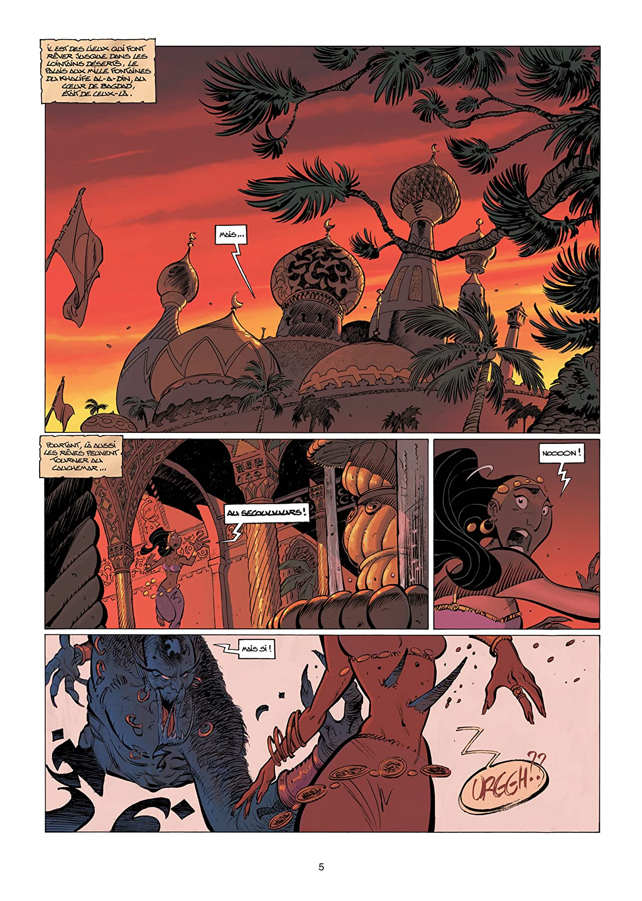 Sinbad Vol. 3: Les ombres du harem