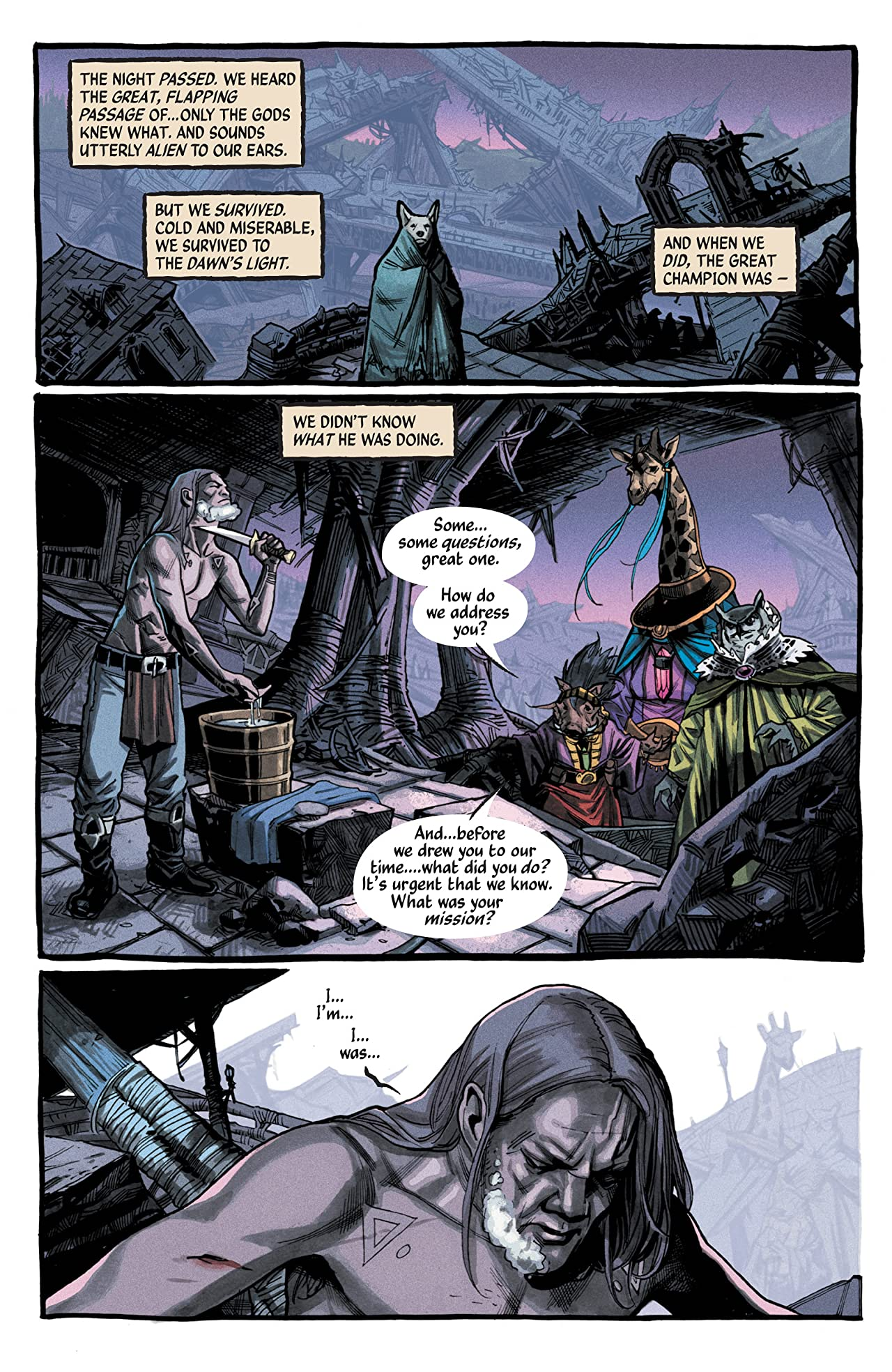 The Autumnlands #3