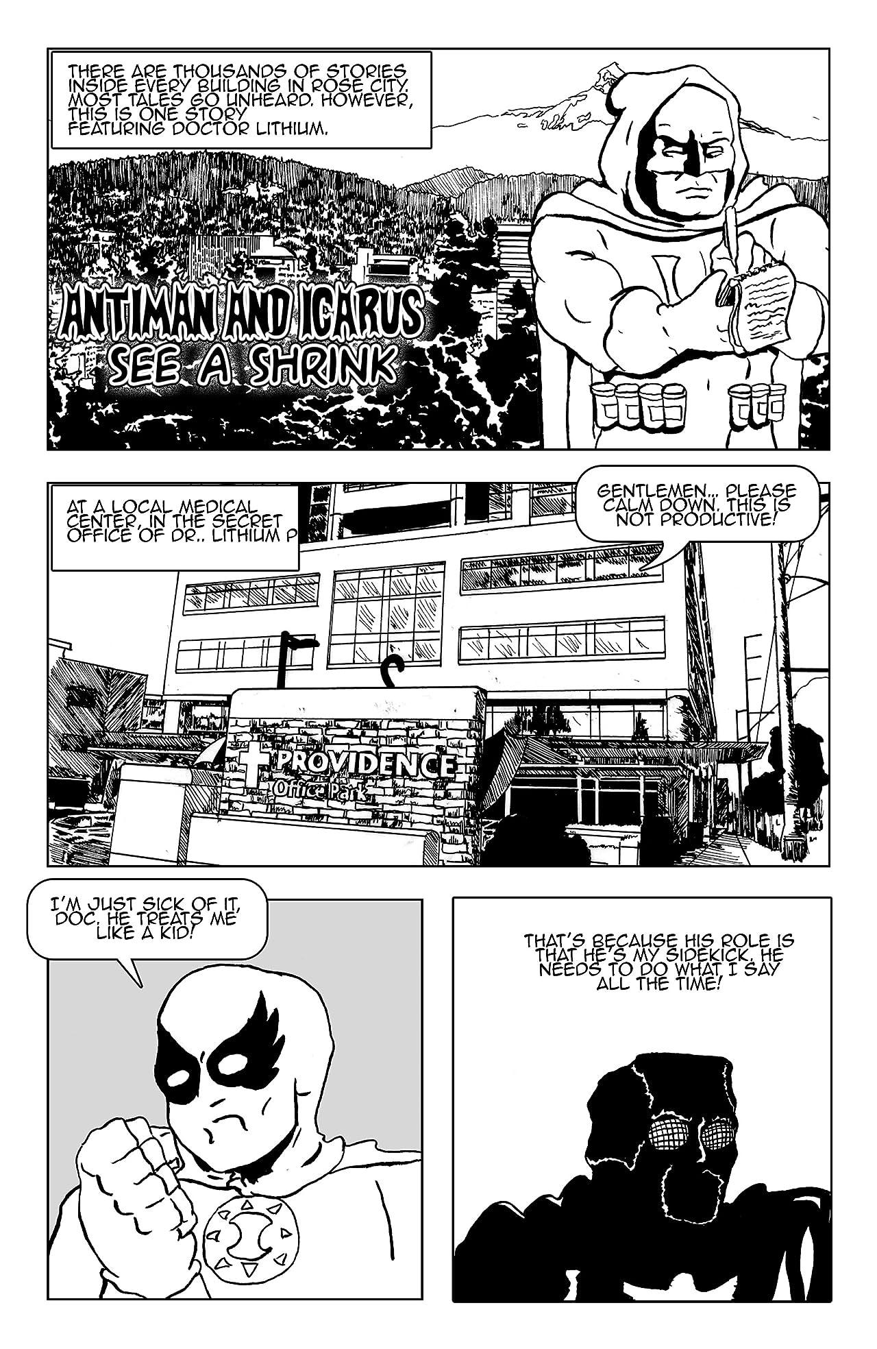 Naked Man Comics #5