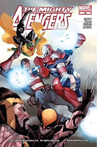 Mighty Avengers (2007-2010) No.32