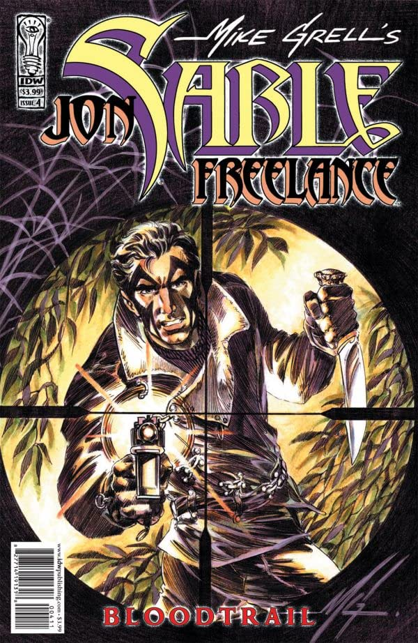 Jon Sable: Freelance - Bloodtrail #4