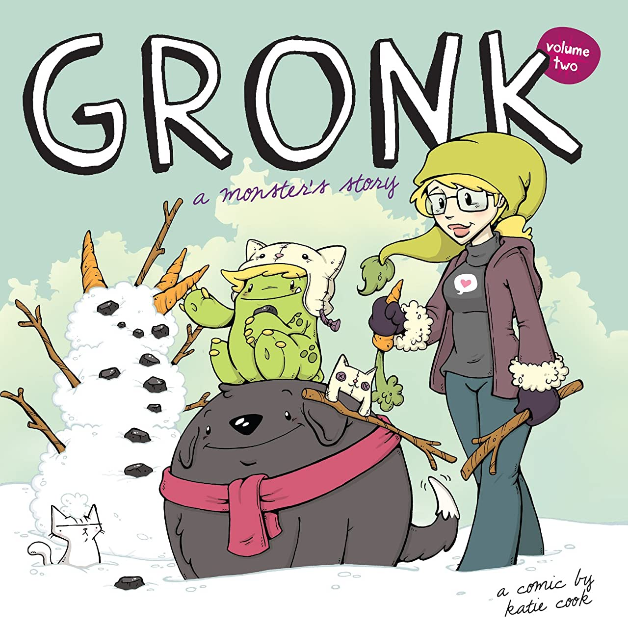 Gronk: A Monster's Story Tome 2