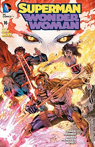 Superman/Wonder Woman (2013-2016) #16