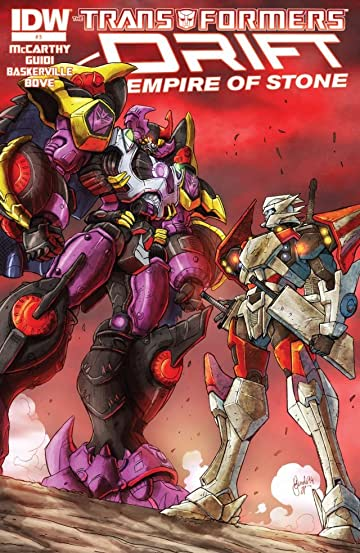 Transformers: Drift: Empire of Stone #3 (of 4)