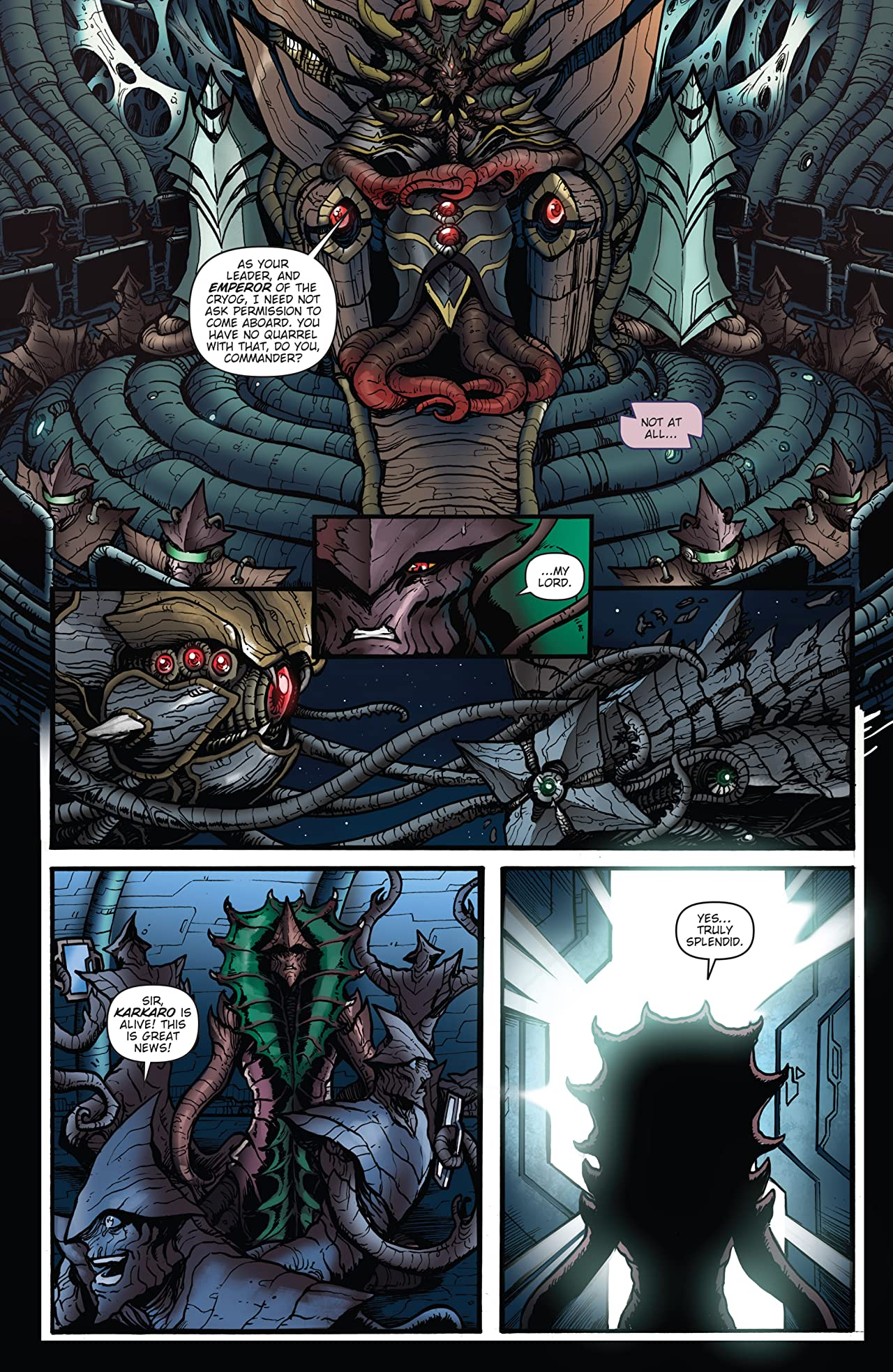 Godzilla: Rulers of Earth #20