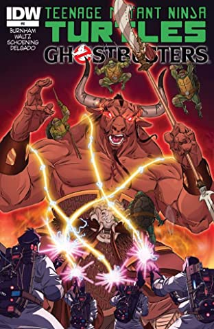 Teenage Mutant Ninja Turtles/Ghostbusters No.4 (sur 4)