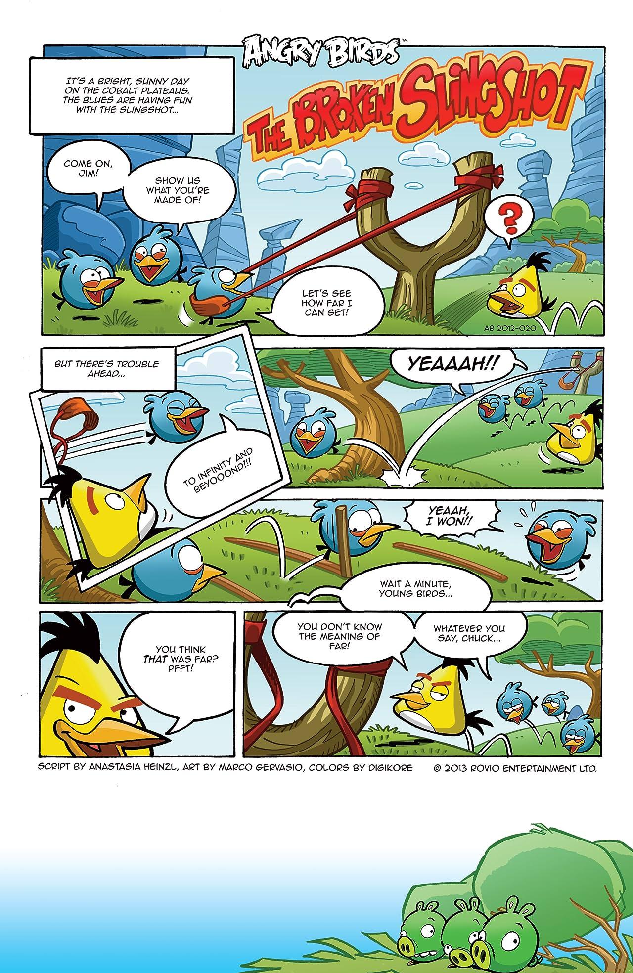 Angry Birds Comics #8