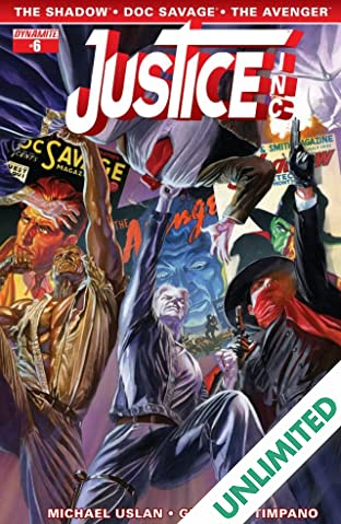 Justice, Inc. #6 (of 6): Digital Exclusive Edition