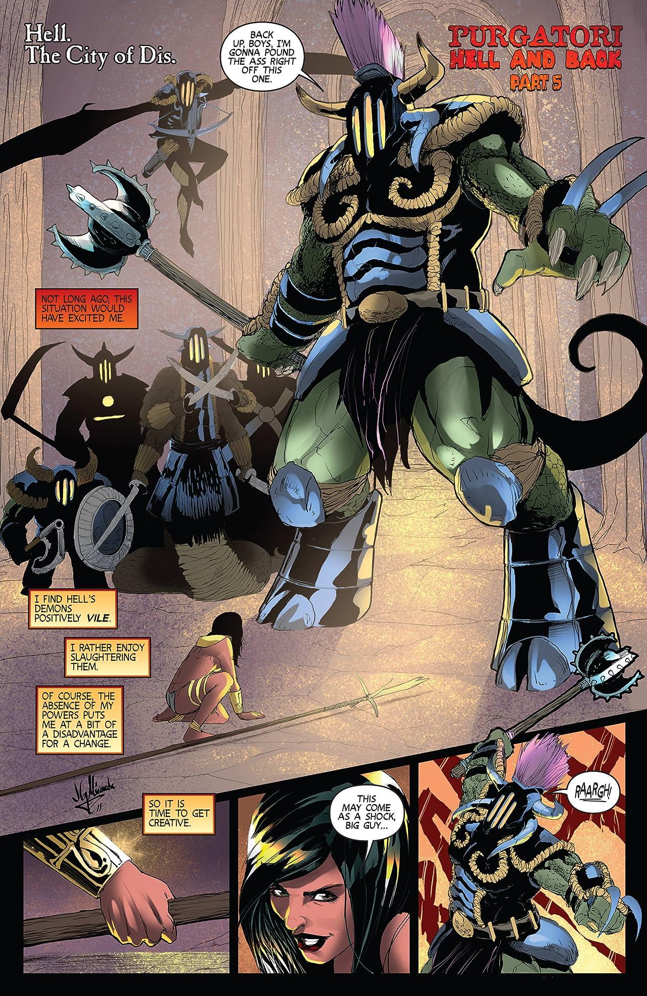 Purgatori #5: Digital Exclusive Edition