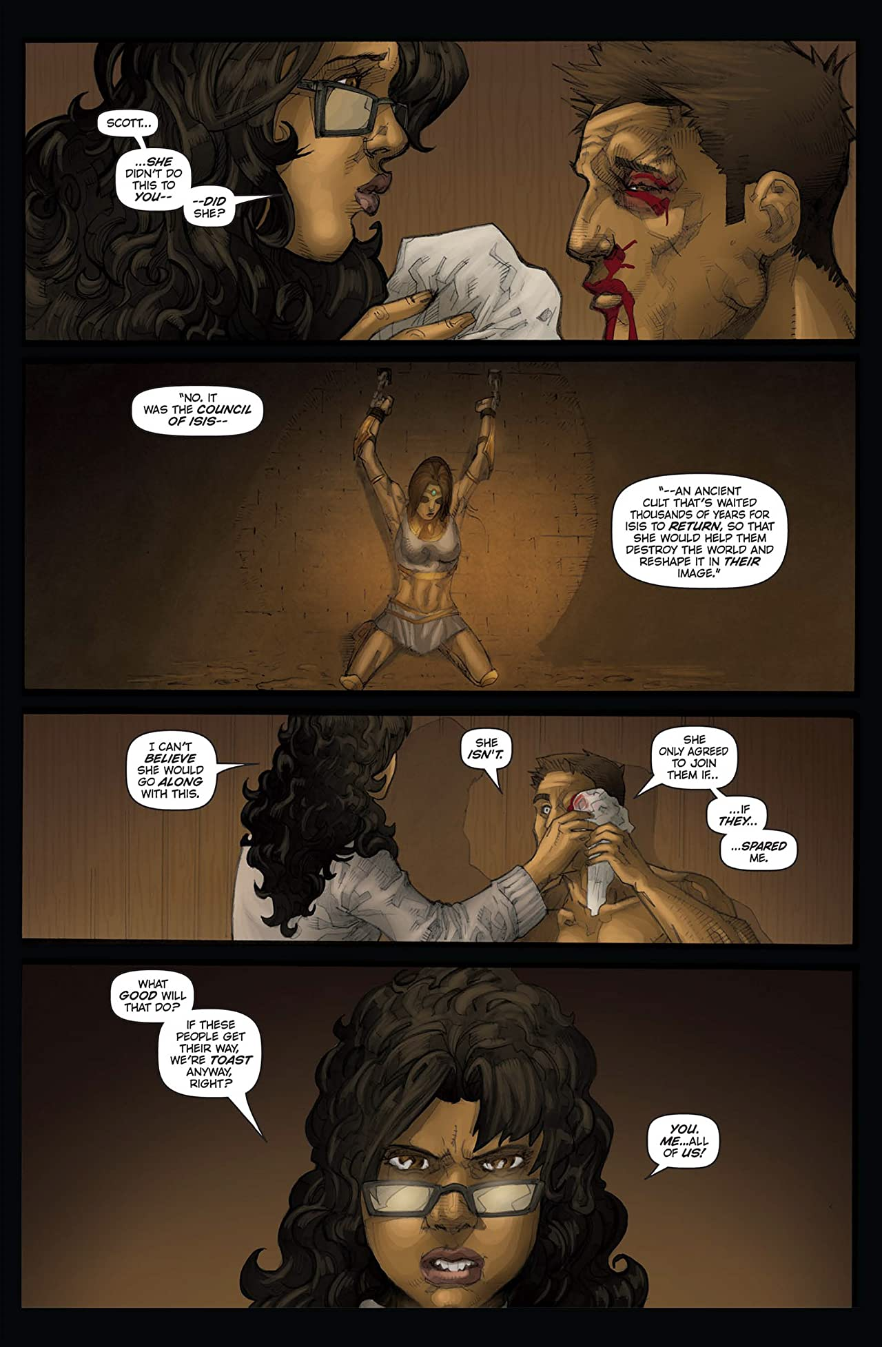 Legend of Isis Vol. 3 #3: Dogs of War