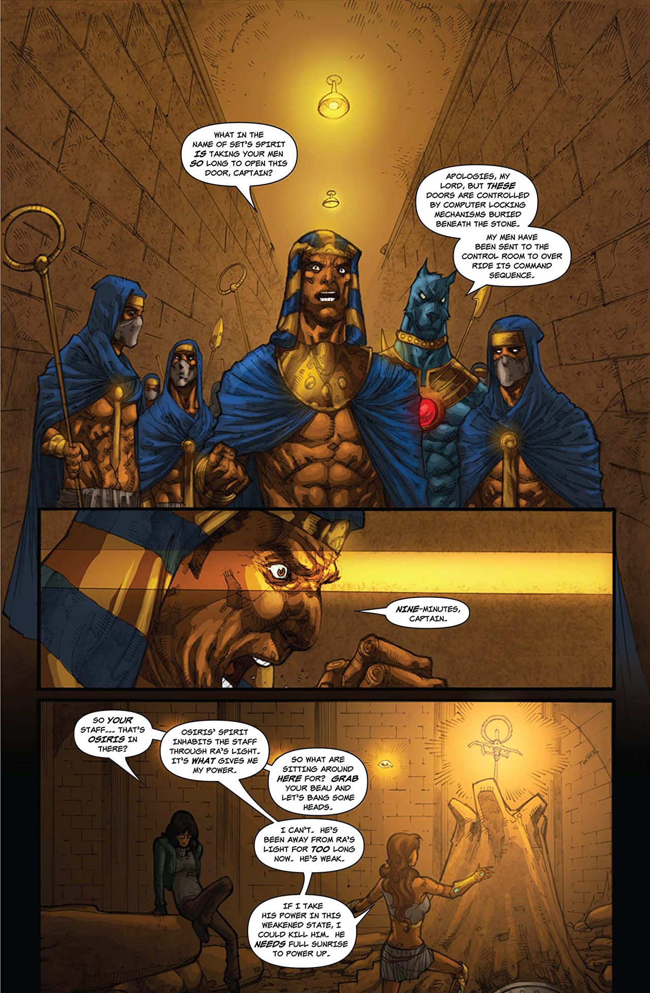 Legend of Isis Vol. 3 #4: Dogs of War