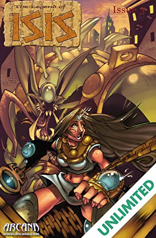 Legend of Isis Vol. 4 #3: Twilight of the Gods