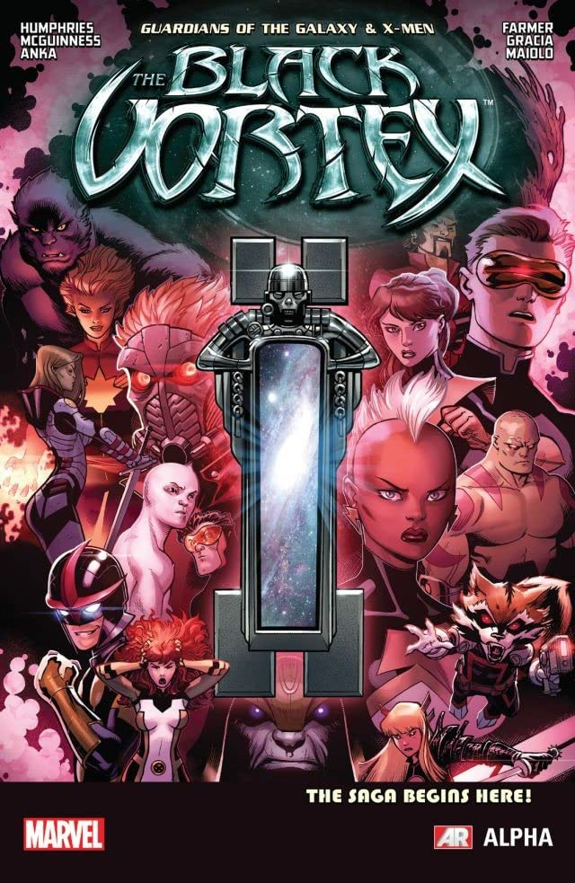Guardians of the Galaxy & X-Men: The Black Vortex Alpha #1