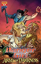 Danger Girl and the Army of Darkness #4