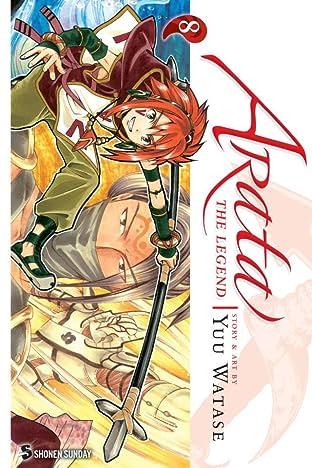 Arata: The Legend Tome 8