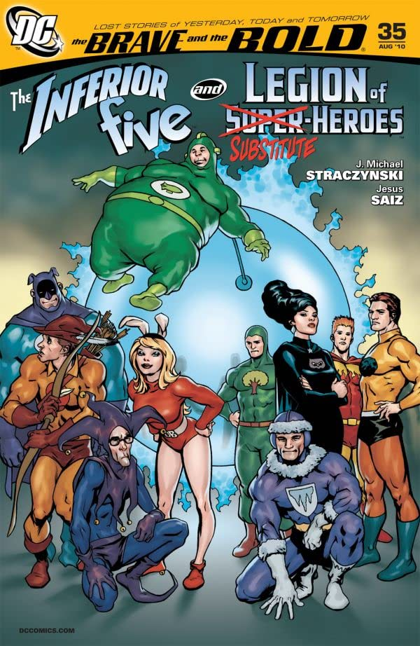The Brave and the Bold (2007-2010) #35