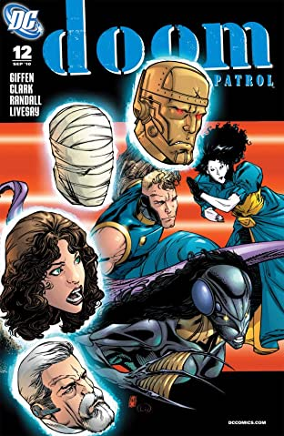 Doom Patrol (2009-2011) No.12