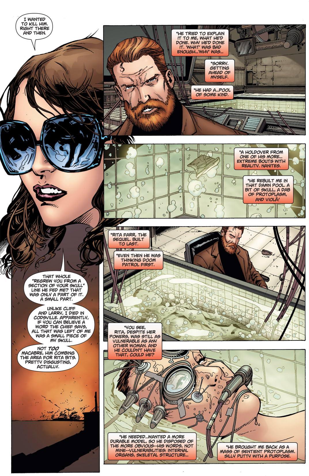 Doom Patrol (2009-2011) #13