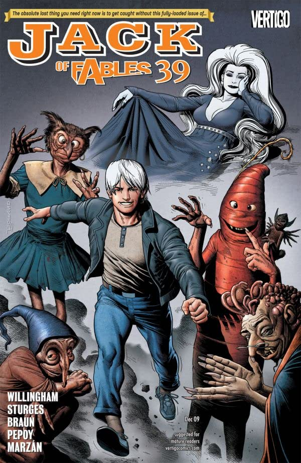 Jack of Fables #39
