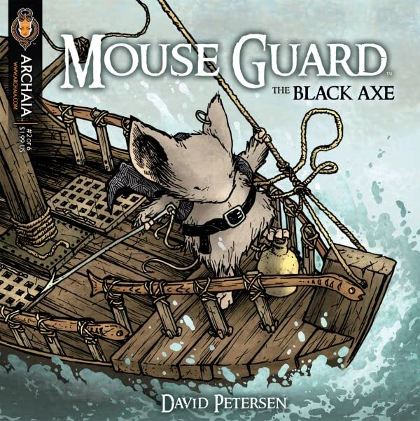 Mouse Guard: The Black Axe #2 (of 6)